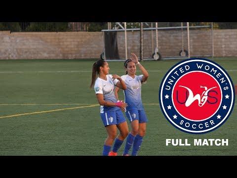 Santa Clarita Blue Heat FC vs Houston Aces - United Women's Soccer League 2017