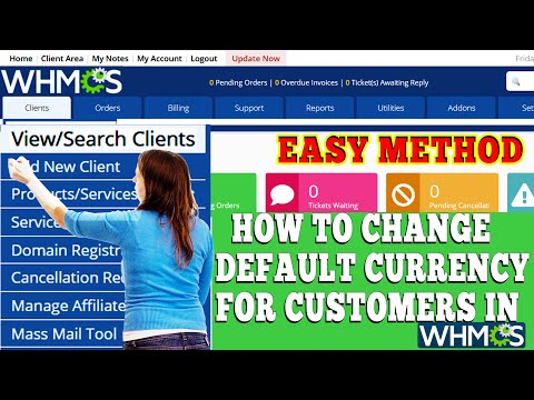 HOW TO CHANGE DEFAULT CURRENCY FOR CUSTOMERS FROM WHMCS? [STEP BY STEP]☑️