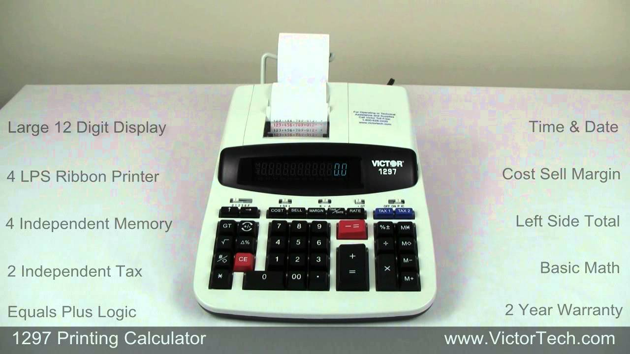 Victor 1297 Calculator Ink Roller