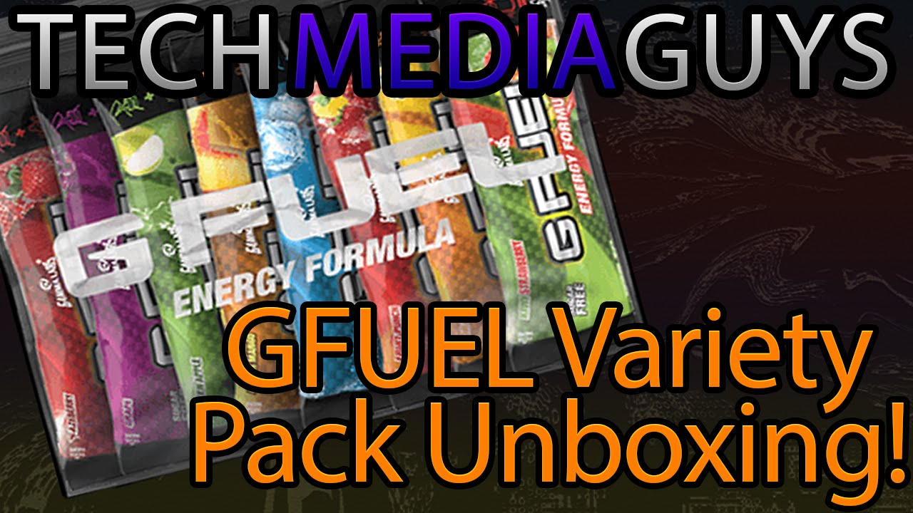 GFUEL Variety Pack Unboxing! All 15 Flavors - YouTube