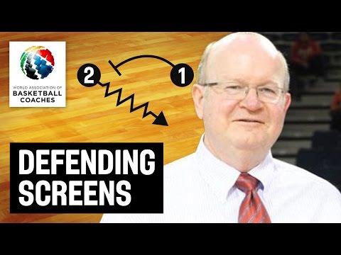 Defending Screens - Patrick Hunt - Basketball Fundamentals