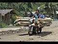 FUNNY MOTORCYCLE TAXI  ANYTHING GOES  PHILIPPINES  TRAVEL. CULTURE.
