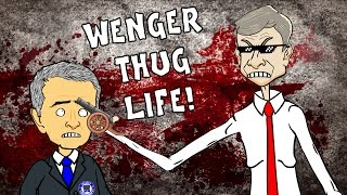 Wenger  BAD BLOOD PARODY! Chelsea vs Arsenal 20 Diego Costa Gabriel Red Card (Highlights 2015)
