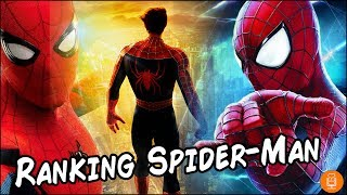Spider-man films ranked (who is the best spider-man?)