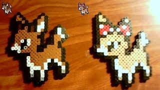 Perlers: Rudolph and Clarice