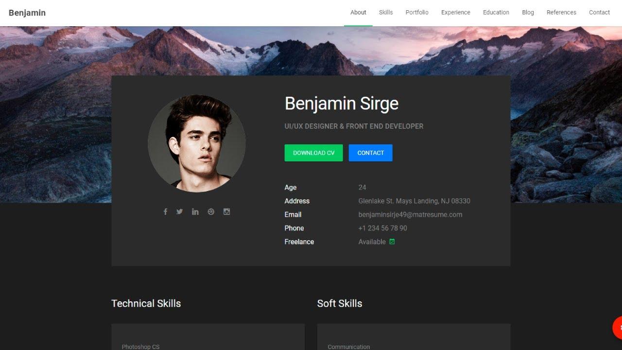 How to Make Creative Portfolio Web Design - Latest Web Design