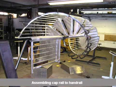 Iron Spiral Staircase Installation By First Impression