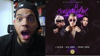 Sensualidad Bad Bunny X Prince Royce X J Balvin - Sensualidad Reaccion.mp3