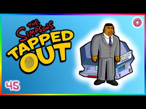The Simpsons: Tapped Out - Tatum VS Simpson III?!