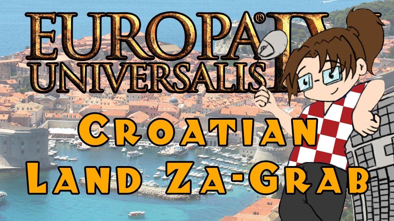 Europa Universalis IV: Croatian Land Za-Grab - Ep 3