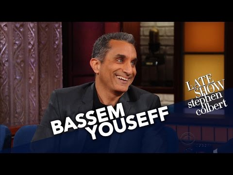 Bassem Youssef Worries He's In The Middle Eastern Version Of 'Get Out'