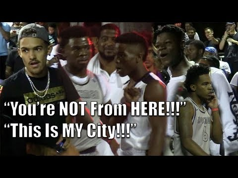 Trae Young & Mo Bamba watch Zion Harmon Dyckman Park DEBUT!