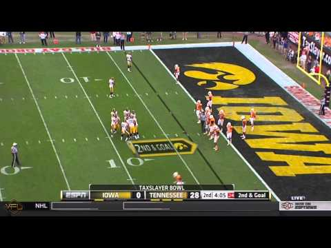 HD: 2015 TaxSlayer Bowl Iowa vs Tennessee