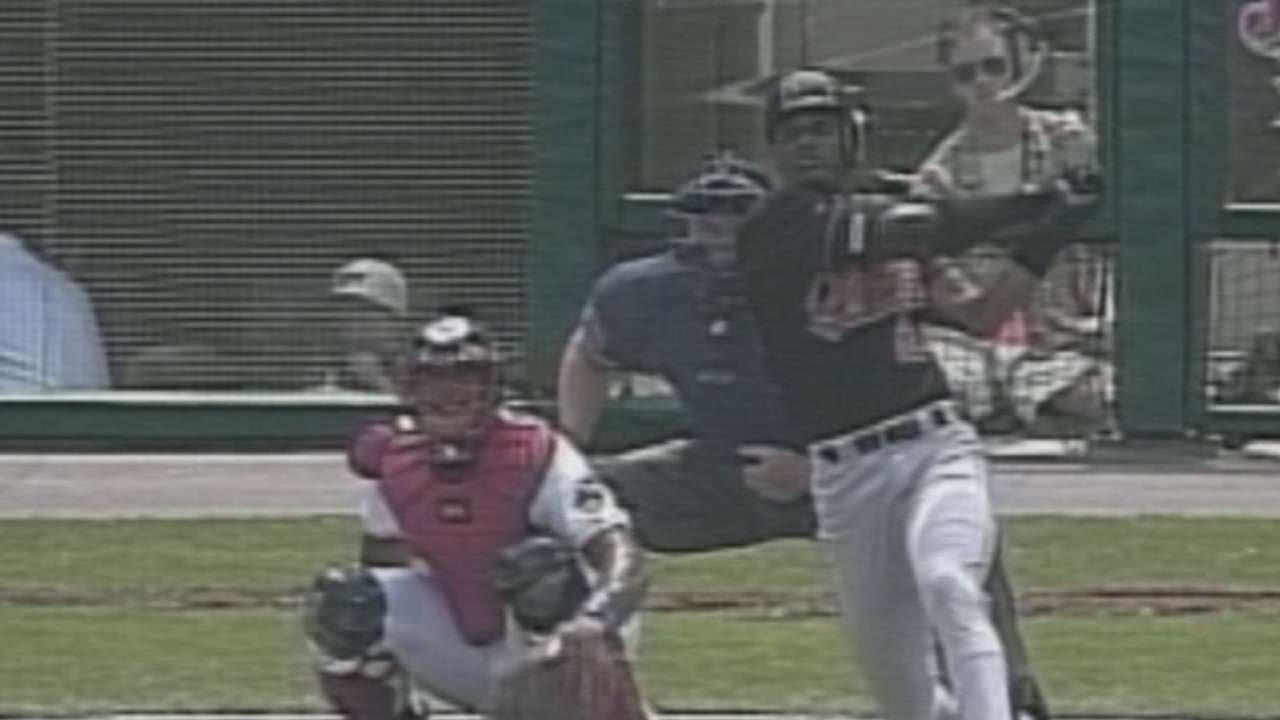 Eric Davis extends hit streak to 30 in 1998 - YouTube