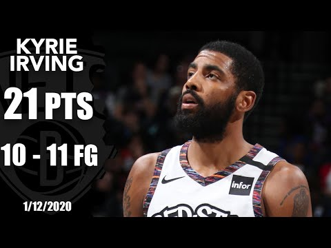 Kyrie Irving Has Nearly Perfect Return For Nets | 2019-20 NBA Highlights