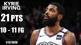 After missing the last 26 games, kyrie irving returns to floor for brooklyn nets and goes 10-of-11 from field score 21 points in a 108-86 win ...