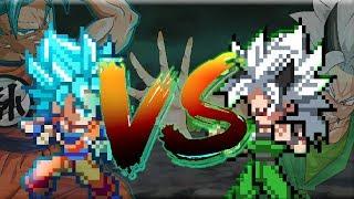 Goku Vs Zaiko(Sprite Animation)