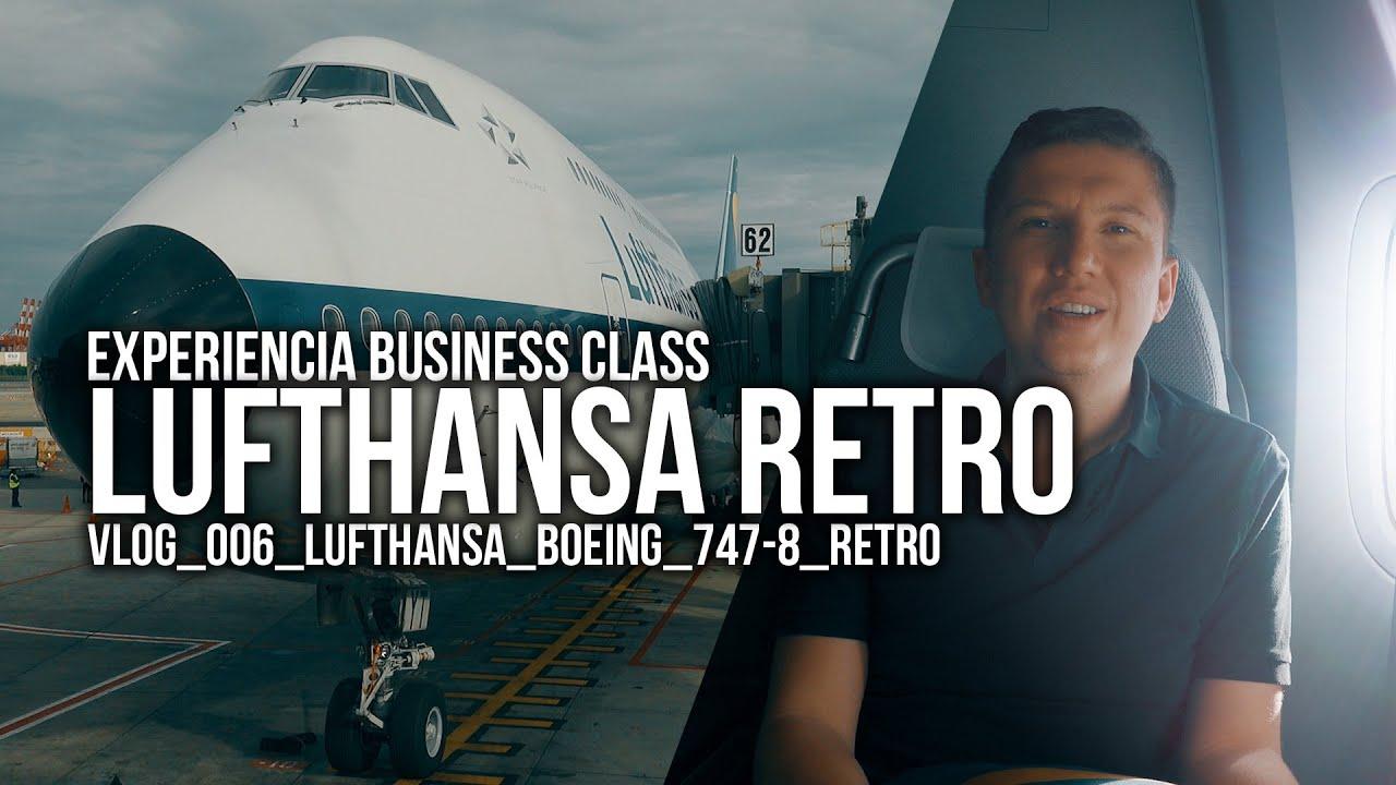EXPERIENCIA Business Lufthansa 747 RETRO