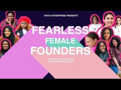 Fearless Female Founders Incubator - Hatch Enterprise Mp3