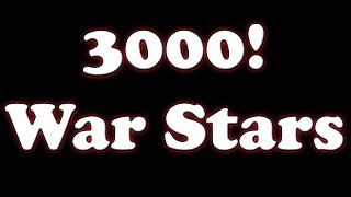 Clash of Clans 3000 War Stars! with Live attack while at work!
