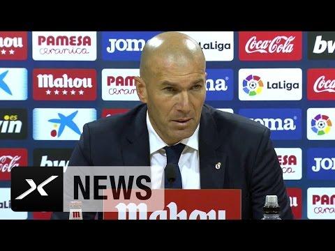 Zinedine Zidane über Comeback-Sieg, Bale und Morata | FC Villarreal - Real Madrid 2:3
