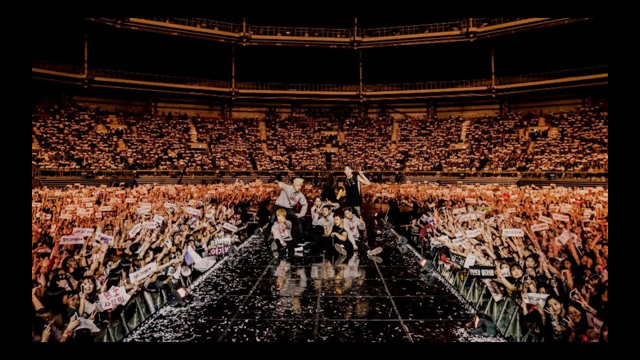 Bts Hd Wallpaper Desktop Ikon Debut Concert Showtime Behind The Stage Youtube