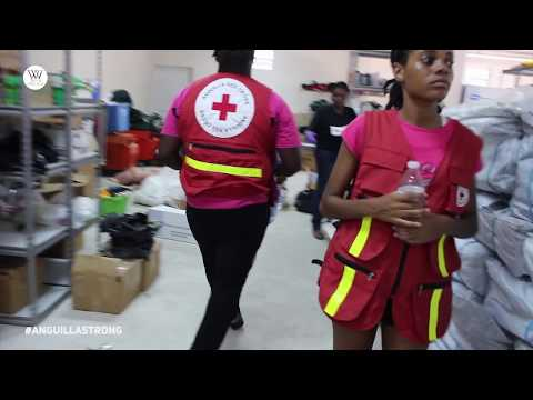 Hurricane Irma Anguilla Red Cross Response