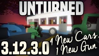 Unturned 3.12.3.0: RACECAR, BUS, TRACTOR, JEEP - YURI SMG