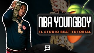 How To Make A NBA YoungBoy Type Beat On FL Studio 12 | Making a 2018 Young Thug Piano/ Rap Type Beat