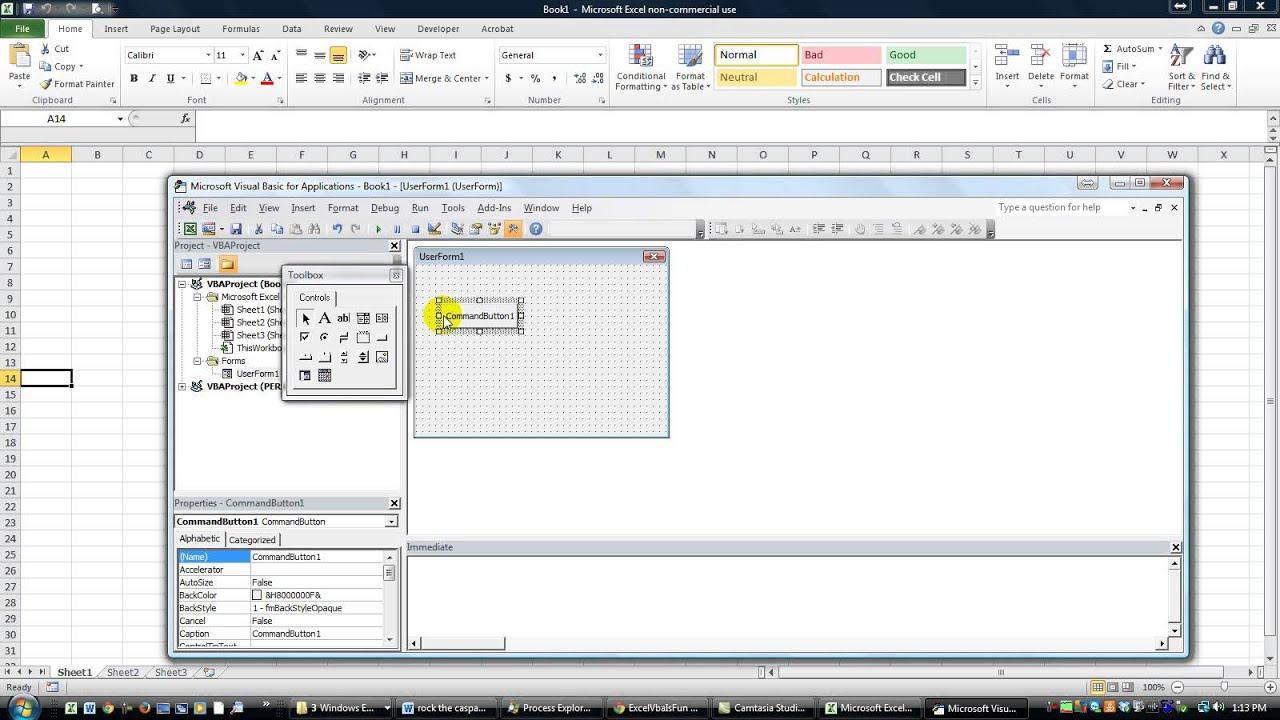 Workbooks open excel workbook vba : Userform Button to Open a Specific Worksheet - ExcelVbaIsFun Speed ...