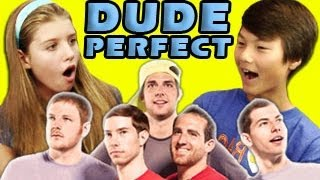 KIDS REACT TO DUDE PERFECT