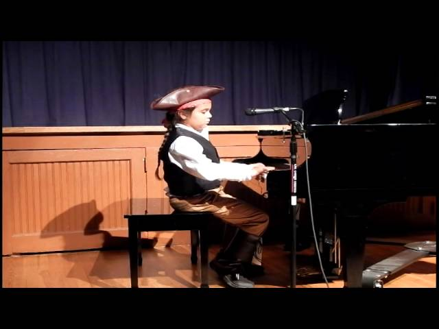 Pirates of the Caribbean on Piano WTQ 2015