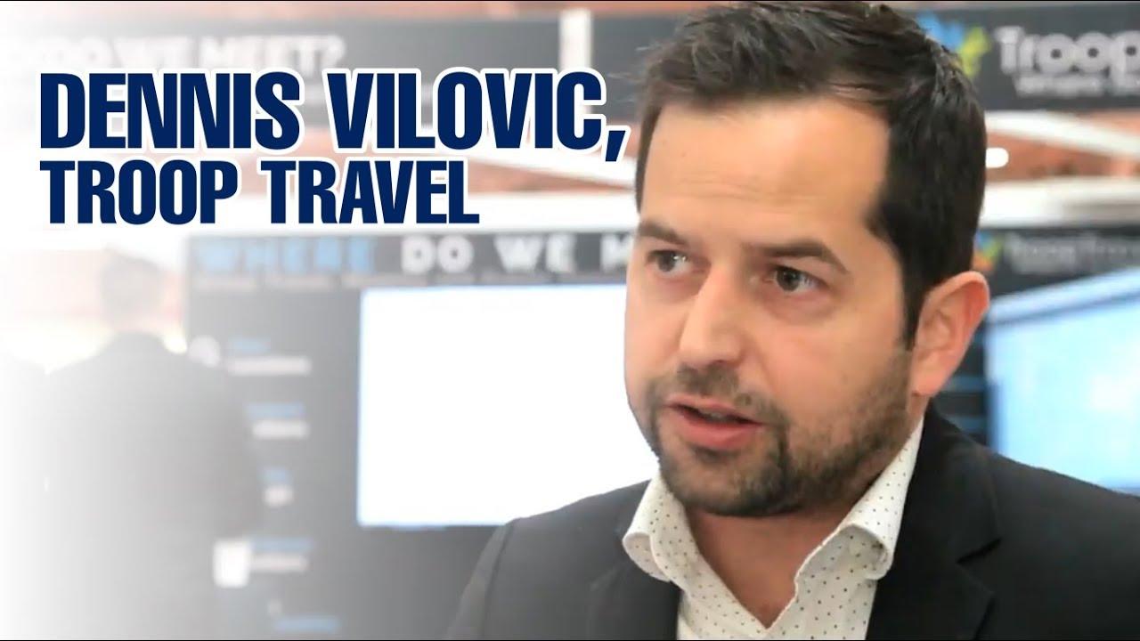 Dennis Vilovic, TroopTravel at Business Travel Show 2019