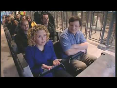 Th13teen Alton Towers on GMTV - Shows full indoor section and POV