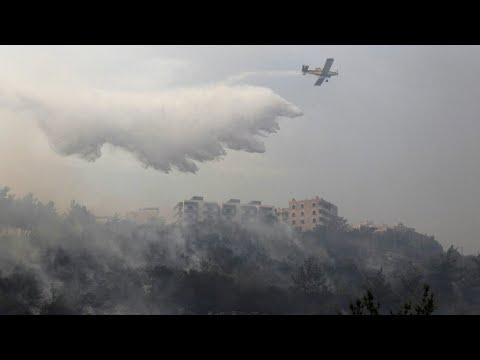 لبنان يستعين بطائرات من دول الجوار لإخماد حرائق واسعة  - نشر قبل 4 ساعة