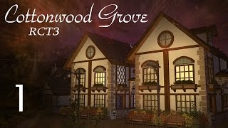"(RCT3) Cottonwood Grove [Part 1] ""Entrance Village"""