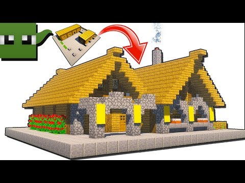 How to Transform a Minecraft 5x5 House into a Bakery