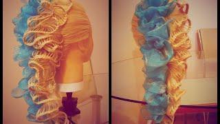 Воздушная причёска с лентой  Плетение Скат. Видео-урок.(Красивая причёска из кос. Ажурная коса. Кружевная коса. Причёски. Косы. Видео-уроки. Идеи. Канал: https://www.youtube.com..., 2015-10-13T17:50:07.000Z)