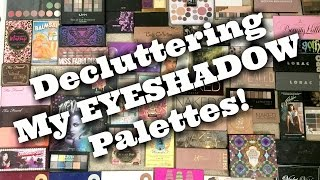 LIVE CHAT: DECLUTTERING My HUGE Eyeshadow Palette Collection! | Jen Luvs Reviews