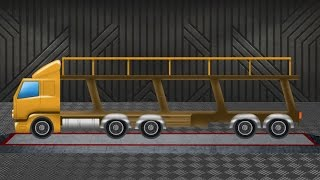 Auto Transport Truck | Learn Vehicles | Formation and Uses | kids videos