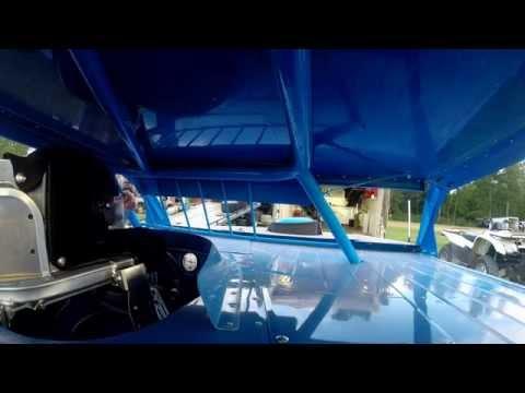 Vic Vena #01 | In-Car Camera | McKean County Raceway | 7-4-14