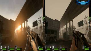 Left 4 Dead 2  PC Gameplay High Vs Low Comparison HD