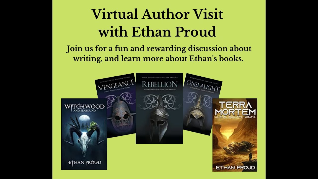 Ethan Proud Author Discussion with the Ruby Sisson Library