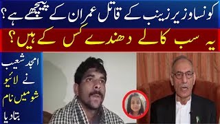 Which Minister Is Behind Zainab Killer Imran? Rtd Lft Amjad Shoaib Telling