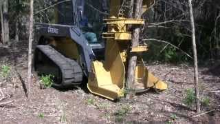 DFM Compact Feller Buncher - Compact Track Loaders