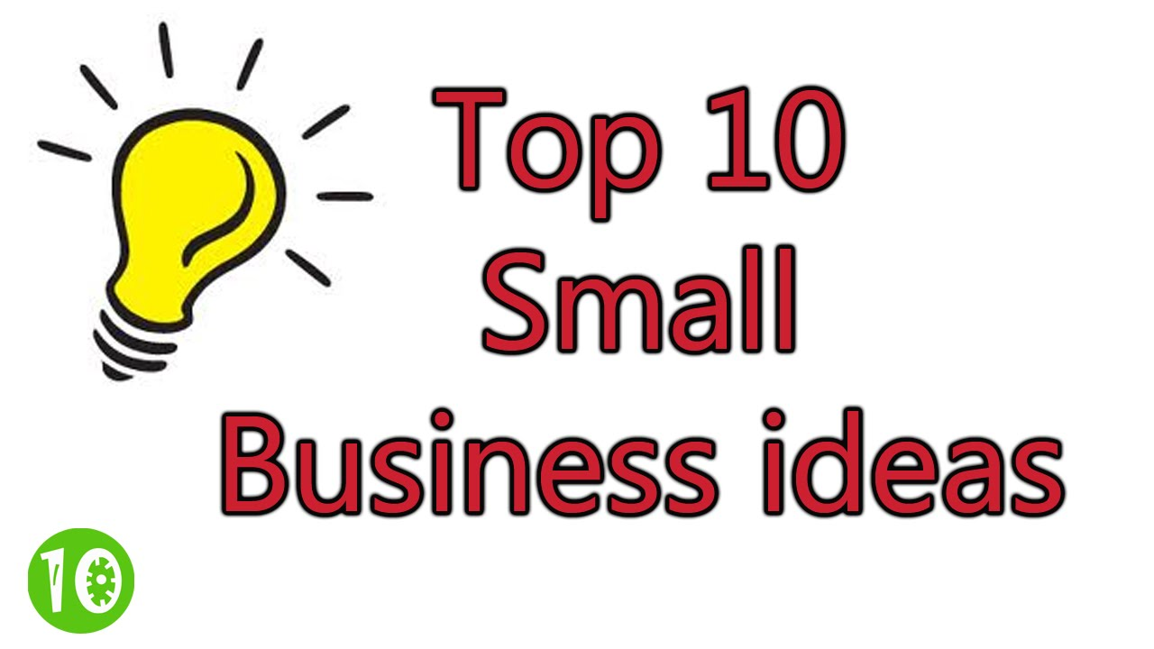 Profitable Small Business Ideas How To Make Money - YouTube