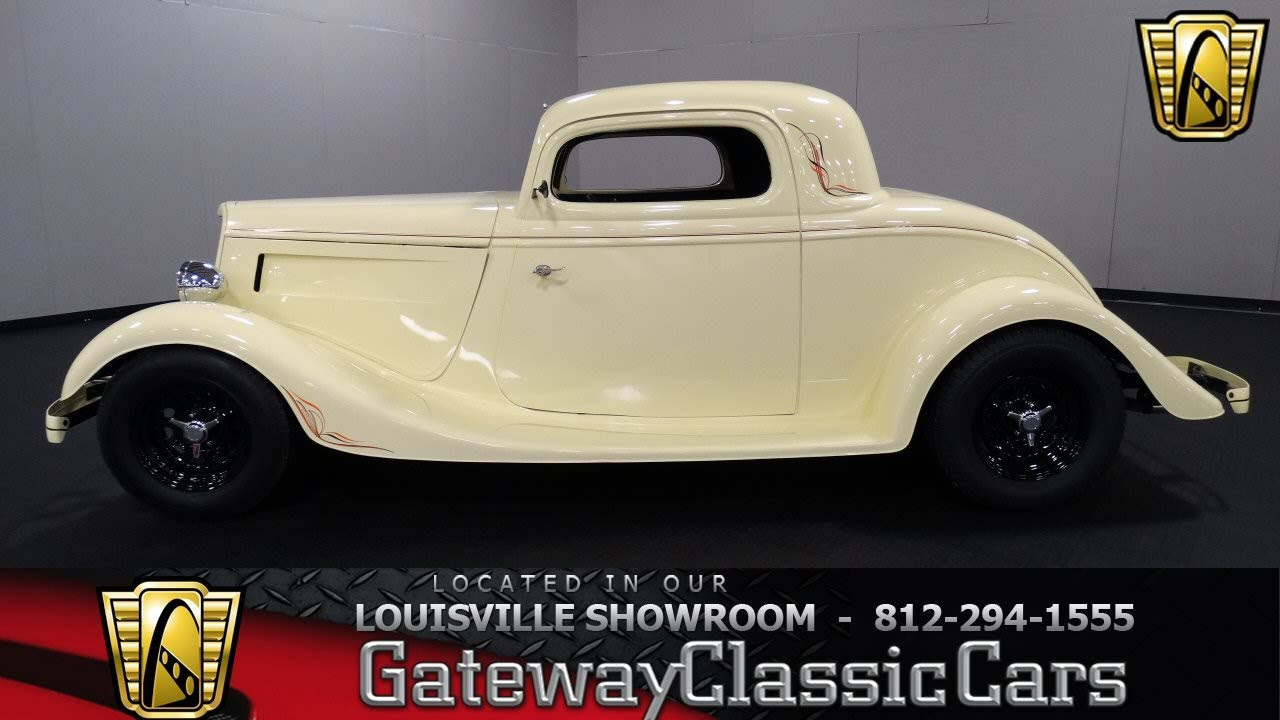 1934 Ford 3 Window Coupe - Louisville Showroom - Stock ...