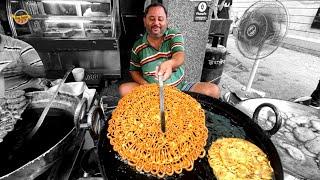 2kg Desi Ghee ki Jalebi ( Itni Crispy Jiski Had Nahi )💯  Indian Street Food  Best Jalebi