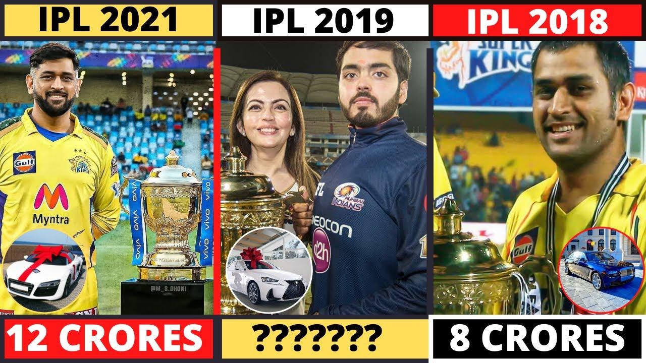 New List Of All Season Winners Of Indian Premier League - IPL 2021 - Chennai Super Kings - Ms Dhoni