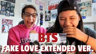 BTS 'FAKE LOVE' MV (Extended ver.) REACTION!!!